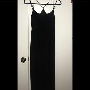Gorgeous Vintage Ann Taylor Velvet Silk Dress